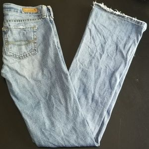 Abercrombie & Fitch Distressed Jeans 0 Long